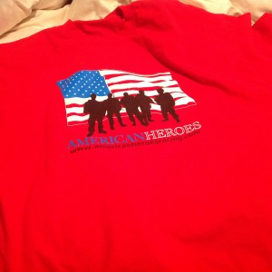 American Heroes Red Friday Shirt